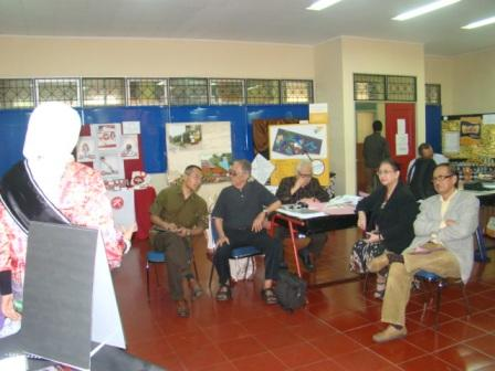 Suasana sidang ujian TA. (Fot.ap304)